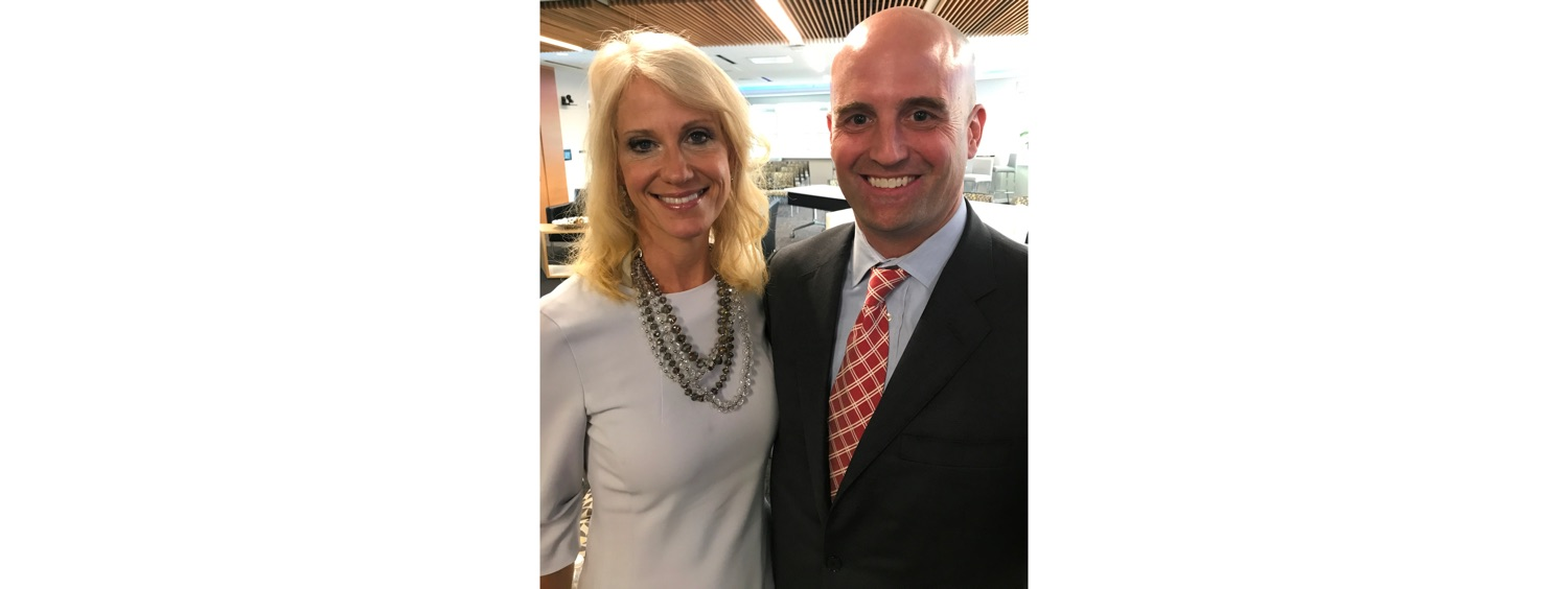 JB & Counselor to the President Kellyanne Conway-1