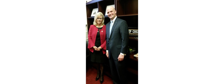 JB & Rep. Liz Cheney (R-WY)-1