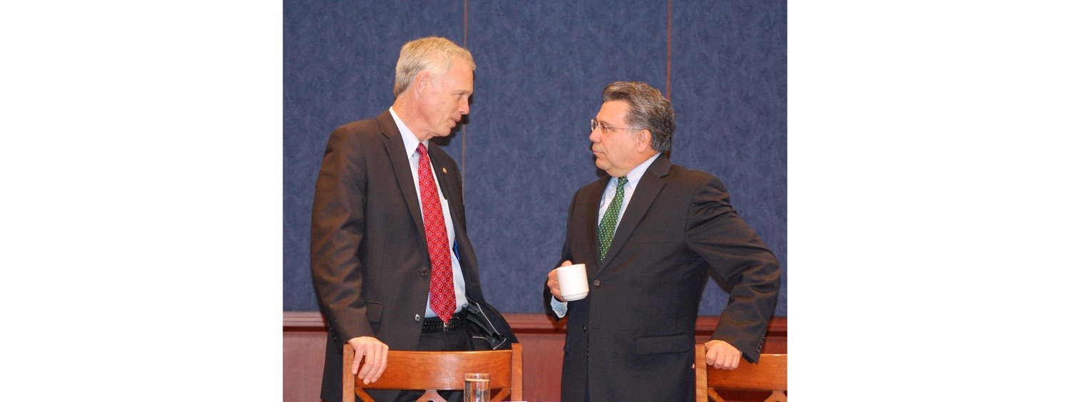 John Palatiello & HSGAC Chairman Ron Johnson (R-WI)-1