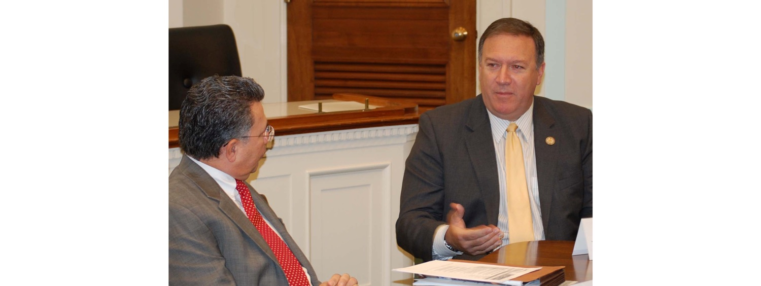 John Palatiello & Secretary of State Mike Pompeo-1