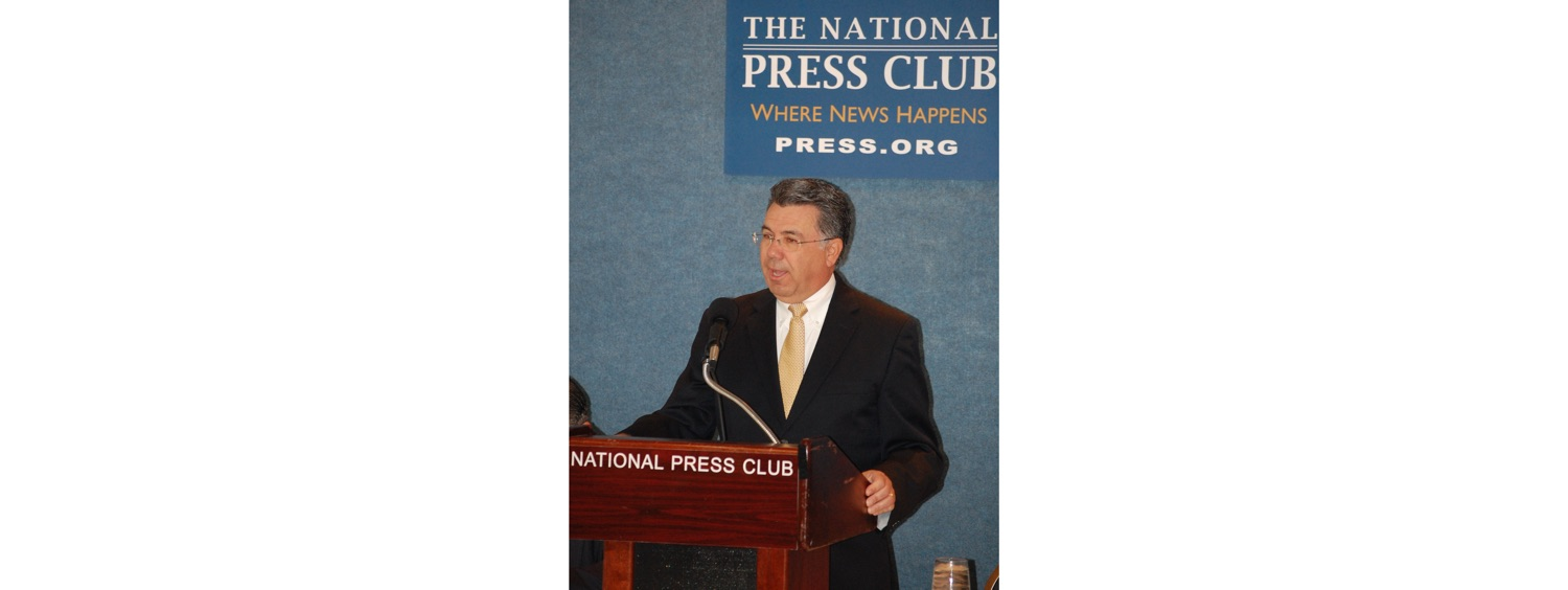 John Palatiello speaking at National Press Club-1